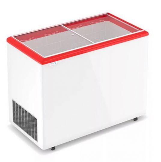 Морозильный ларь с прямым стеклом Optima 250 C